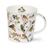 Dunoon-beker-mok-mug-Becher-Lomond-SECRET-WOOD-Robin-Roodborstje-Jane Fern-