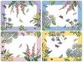 placemats-TERRACE-Botanic-garden-hittebestendige-kurk-set/4-Pimpernel-Portmeirion-terrasplanten-bloemen