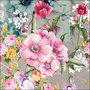 Ambiente-papieren-servet-paper-napkin-MEGHAN-flower-33x33cm-bloemen-lunch-diner