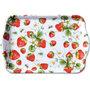 Ambiente-kunststof-dienblad-scatter-tray-small-STRAWBERRIES-aardbeien-bloemetjes-13x21cm