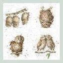 papieren-servetten-Wrendale-WHAT_A_HOOT-OWL-uil-lunch-diner-paper_napkins-33x33cm-design-Hannah_Dale