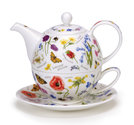 Dunoon-Tea for one-WAYSIDE-veldbloemen-vlinders-insecten-hommels-bijen