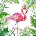 Papieren-servetten-PPD-TROPICAL-FLAMINGO-Tropische-dieren-vogels-1332707