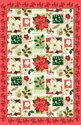 Ulster-Weavers-100%-linnen-theedoek-CRISTMAS-FLOWER-Kerstroos-bloemen-Kerstmis-000CFL-