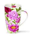 XL-beker-mok-thee-koffie-Henley-PEONIES-Pioenroos-Pioenrozen-600ml.