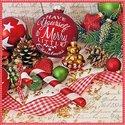 Ambiente-papieren-kerst-servetten-Have-yourself-a-MERRY-LITTLE-CHRISTMAS-Kerstbal-33x33cm-Lunch-diner-33313610