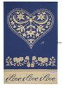 theedoeken-katoen-China-Blue-tekst-LOVE-hart-bloemen-vogels-blauw