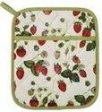 Ovenwant-pannenlap-RHS-Strawberry-aardbeien-Ulster-Weavers
