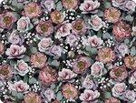 VINTAGE-FLOWERS-Ambiente-PVC-placemats-19013900-dun-zacht-foam-polyester-siliconen-40x30cm-bloemen-Roos