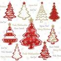 papieren-servetten-p/20-Ambiente-lunch-diner-33x33cm-PAINTED-TREES-Kerstboom-gekleurd-rood-tekst-33312241