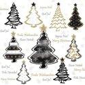 papieren-servetten-p/20-Ambiente-lunch-diner-33x33cm-PAINTED-TREES-black-Kerstboom-gekleurd-zwart-tekst-33312242