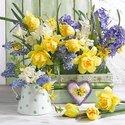 papieren-servetten-MIX_OF_FLOWERS-lente-voorjaar-spring-Narcis-geel-Hyacinth-paars-blauw-Ambiente-12514265