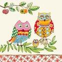 papieren-lunch-servetten-FAMILY-OWL-uilen-familie-33x33cm-Ambiente