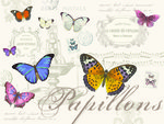 Placemats-kunstof-kurk-Papillons-vlinders-Nuova-R2S-40x30cm