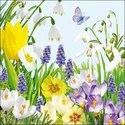 papieren-servetten-SPRING_TIME-voorjaar-lente-bloemen-bloembol-blue-blauw-geel-wit-13307760