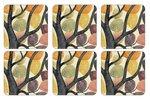 Pimpernel-onderzetters-kurk-onderzijde-DANCING_BRANCHES-gekleurde-bladeren-Norman_Wyatt_jr.-X0010268807