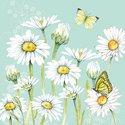 Ambiente-lunch-diner-papieren-servetten-DAISY_GREEN-groen-mintgroen-pastel-voorjaar-lente-13313920