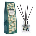 Fired Earth,Wax Lyrical,geurstokjes,olie,GREEN_TEA_&_BERGAMOT-100ml-reed_diffuser