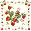 Papieren-servetten-FRESH-STRAWBERRIES-aardbeien-33x33cm-Ambiente-13314245
