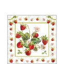 Papieren-servetten-FRESH-STRAWBERRIES-aardbeien-25x25cm-Ambiente-12514245