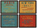 Pimpernel-placemats-set/4-Lunchtime-London-Roma-Paris-New-York