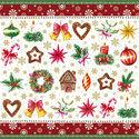 papieren-cocktail-servetten-Kerst-stukjes-Xmas-Parts-red-25x25cm