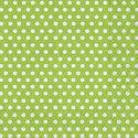 Colourful-Life-papieren-cocktail-servet-25x25cm-groen-met-witte-stip
