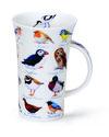 Dunoon-Glencoe-beker-Birds-Vogels