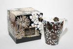Dunoon-solway-giftbox-collection-MOCCA-bruin-bloemblaadjes-goud-accenten-22karaat-inhoud-350ml