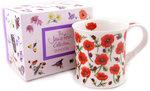 Dunoon-fbc-beker-mok-giftbox-Edale-klaproosjes-Jane-Fern-Collection