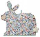 Ulster-Weavers-design-theemuts-rabbit-konijn-gebloemde-stof