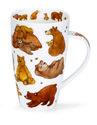 Dunoon-XL-beker-mok-GRIZZLIES-bruine-beren-bijtjes-honing-Henley-600ml-