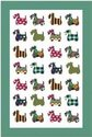 Ulster-Weavers-100%-linnen-theedoeken-honden-Scottie-Patterns-groen-