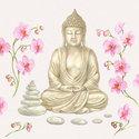 papieren-lunch-servetten-Ambiente-BUDDHA-Orchidee-stenen