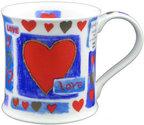Valentijn-beker-porselein-love-haerts-blauw-rood