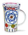 Glencoe-XL-beker-mok-Atomen-protonen-neutronen-Einstein-Bohr