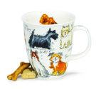 Dunoon-beker-mok-fbC-messy-dogs-verwarde-vervuilde-honden-480ml-design-Kate Mawdsley-