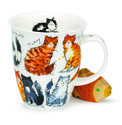 Dunoon-beker-mok-fbC-messy-cats-verwarde-vervuilde-katten-480ml-design-Kate Mawdsley-