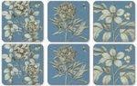 Sanderson-Pimpernel-onderzetters-Etching-Roses-blue-set/6