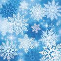 papieren-servetten-Paper+Design-ICE-CRYSTALS-ijskristallen-25x25cm