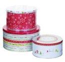 Pimpernel-Portmeirion-3piece-blikken-voorraad-trommels-Christmas-wish