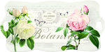 Nuova-dienblad-langwerpig-m/greep-Rozen-Jardin-Botanique