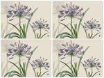 Placemats-Pimpernel-RHS-Portmeirion-Agapanthus-purple-set/4