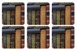 Pimpernel-onderzetters-kunststof-kurk-set/6-Archive-books-boeken