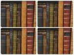 Pimpernel-Portmeirion-placemats-kunststof-kurk-set/4-ARCHIVE-BOOKS-boeken-40x30cm