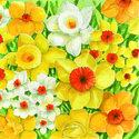 papieren-servetten-SIGNS-SPRING-lente-voorjaar-Narcissen-geel