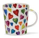 Cairngorm-XL-beker-mok-WARM-HEARTS-gekleurde-harten-regen-480ml