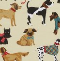 papieren-servetten-paper napkins-HOUND-DOG-honden-Dalmatier-Tekkel-Scottie-terrier-golden retrever-cocktail-Ulster Weavers