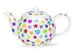 Dunoon-Theepot-small-STARBURST-gekleurde-sterren-inhoud-0,75Ltr-Caroline-Bessey