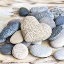papieren-servetten-lunch-Ambiente-PEBBLES-stenen-blauw-grijs-zand-33x33cm